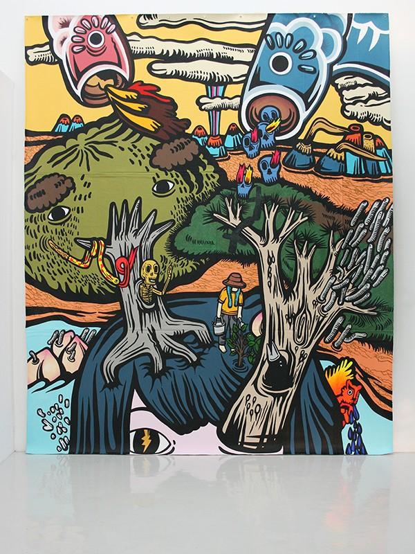 Cartellino Creative Confidential Yuree Kensaku What Growing in My Mind