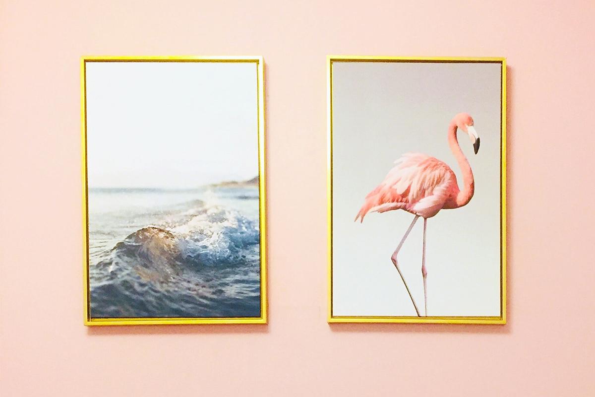 Cartellino Flamingo