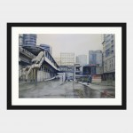 Arzel_Herrera_ECQ_Centris_Station_Watercolor_on_paper_12_x_18_inches_framed_black.jpg