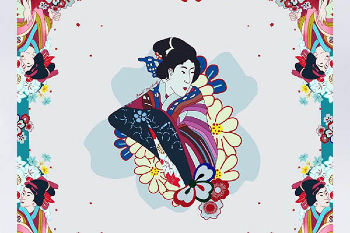 The Geisha Scarf