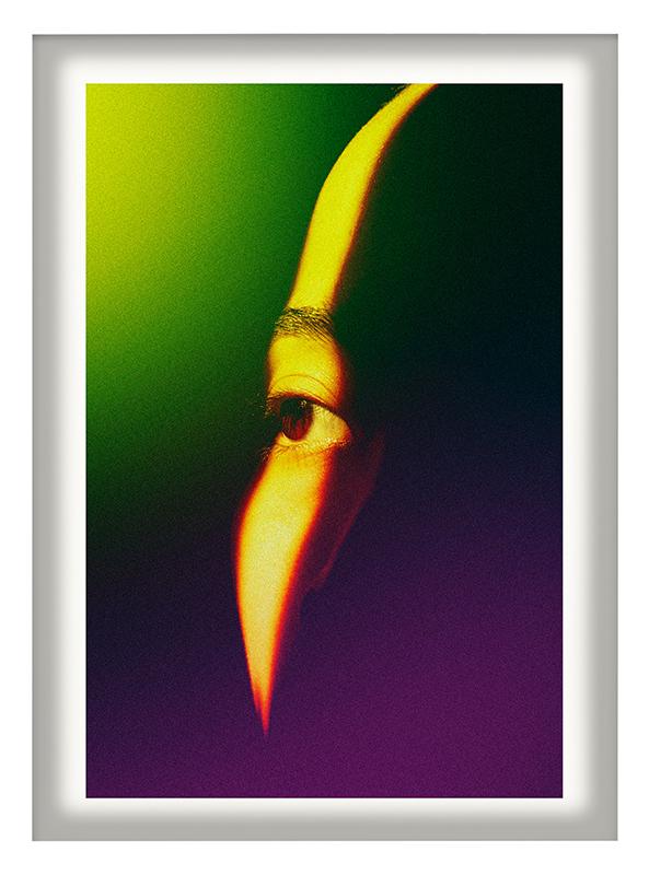 Cru Camara_Eye 11 x 14 inches photo manipulation edition of 10 framed