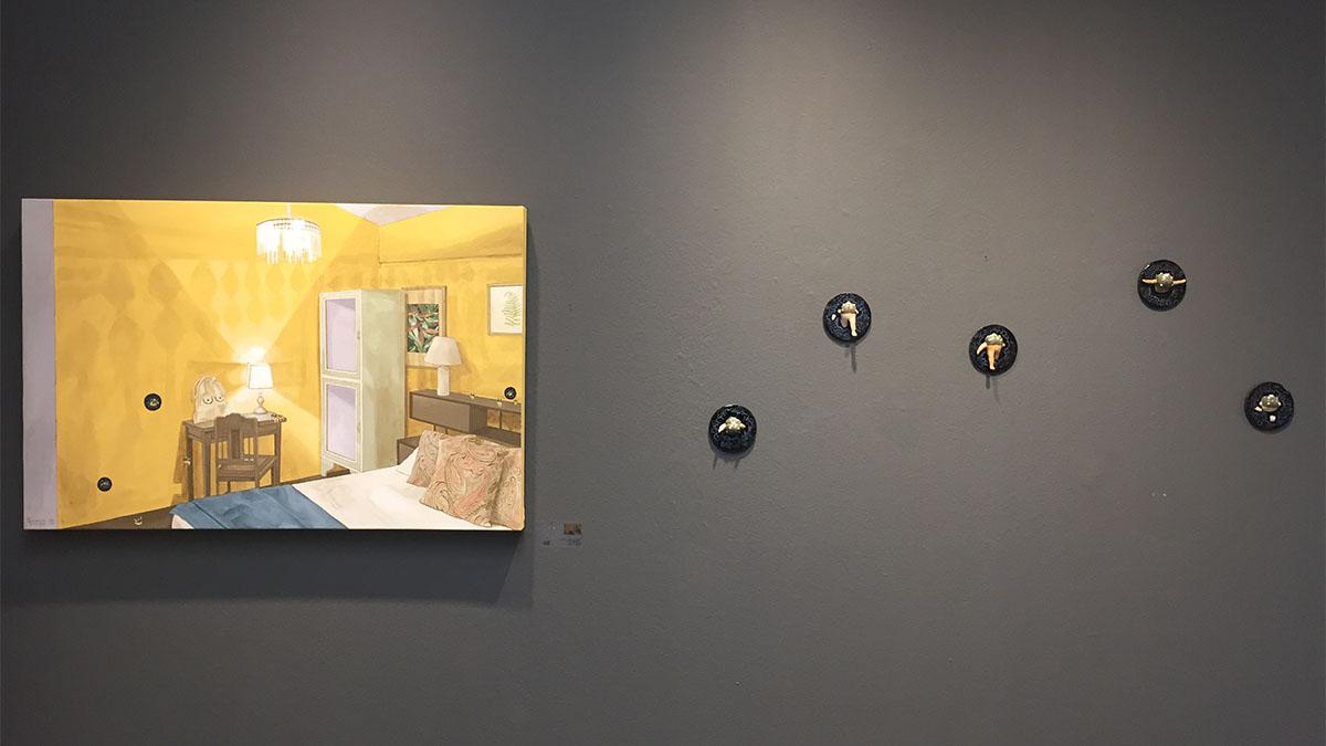 Exhibition view Genavee Lazaro