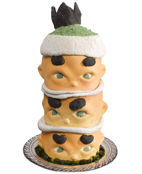 Sweet Nothings King Racha Cake Series: Grass Jelly Macha with Oreos