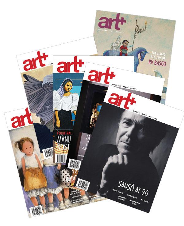 Art Plus Magazine: Issue Nos. 64–69 (Bundle)